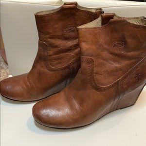 Frye wedge boot
